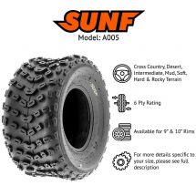 "18x10.00x8"" / 18x10x8"" SUNF A-005 TYRE ATV QUAD E-MARKED"